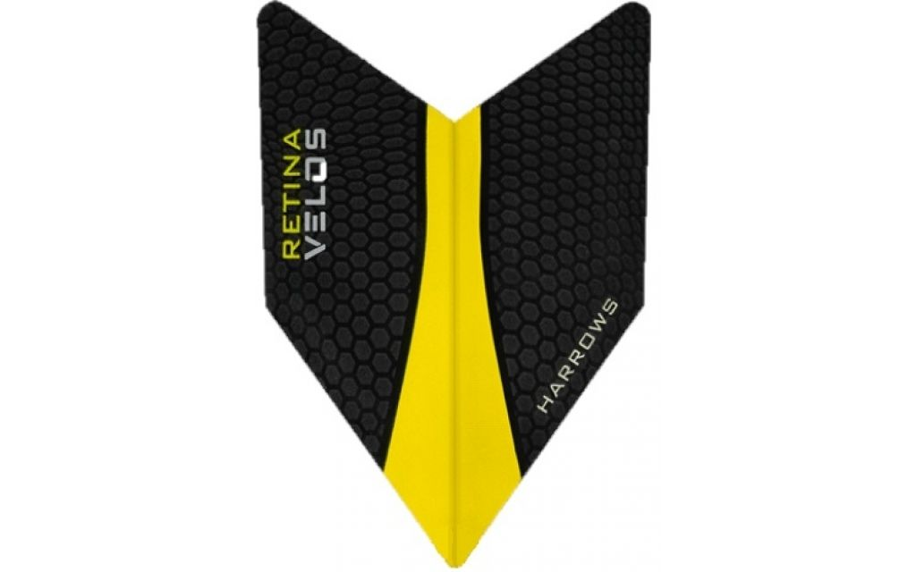 Harrows Velos Retina Yellow Flights