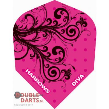 Harrows Diva Black/Pink