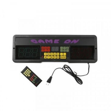 Game on scorerboard with remote