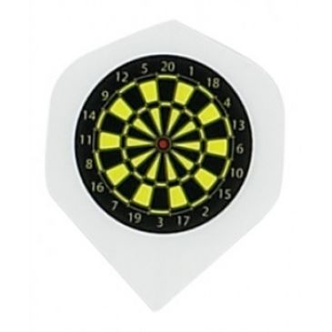 Flight Transparant Dartboard