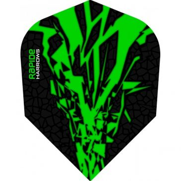 Harrows Rapide-X Flight Green
