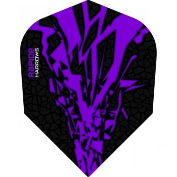 Harrows Rapide-X Flight Purple