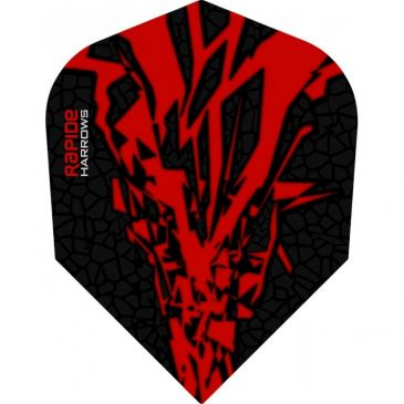 Harrows Rapide-X Flight Red