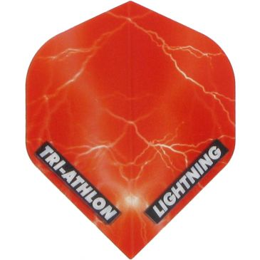 McKicks Lightning  Triathlon Clear Red