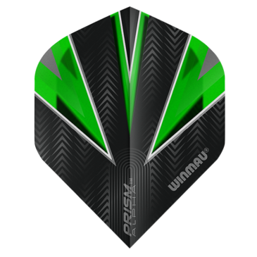 Winmau Prism Alpha Green Flights