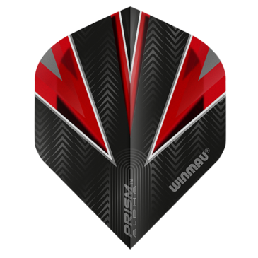 Winmau Prism Alpha Red Flights
